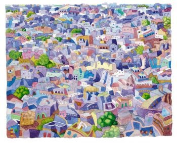 Blue City, Jodhpurs, India