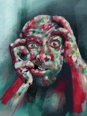 Fingers | Distortion | Blotch | Stark | Foreboding