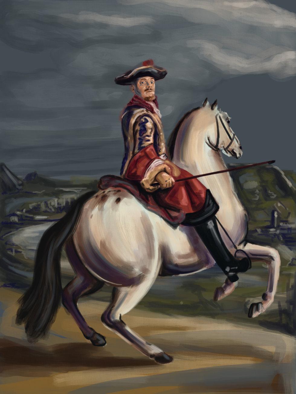 Horse Ride Battle Paint Look Week 41