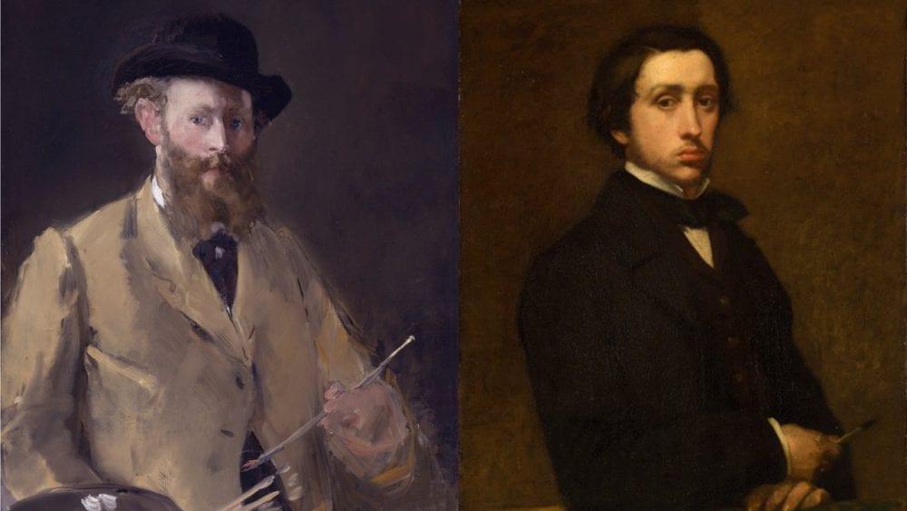 Manet Degas