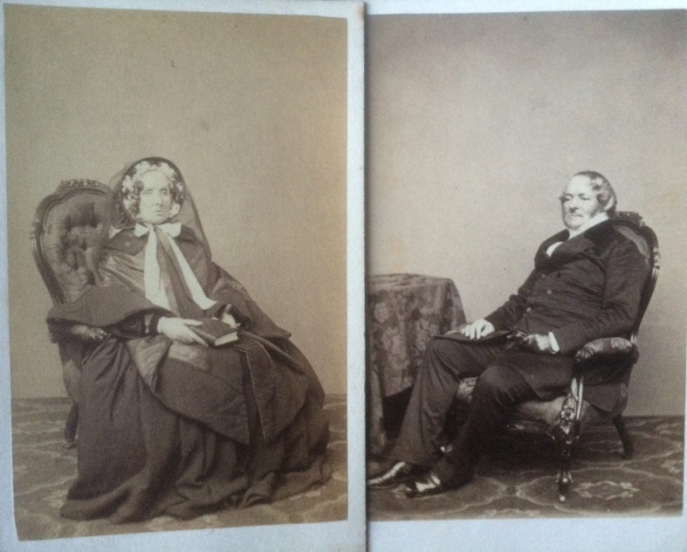 My Great Great Grandparents In The 1860s Reverend Frederick And Anna Beatty