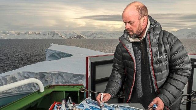 Nick Romeril Antarctica Ben Shread