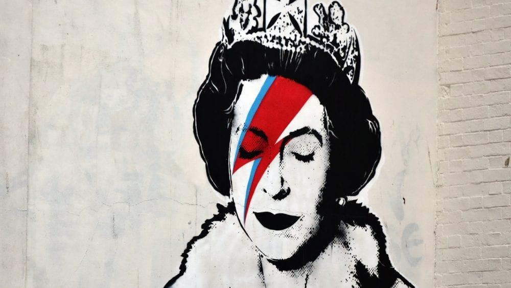 Queen As David Bowie Banksy