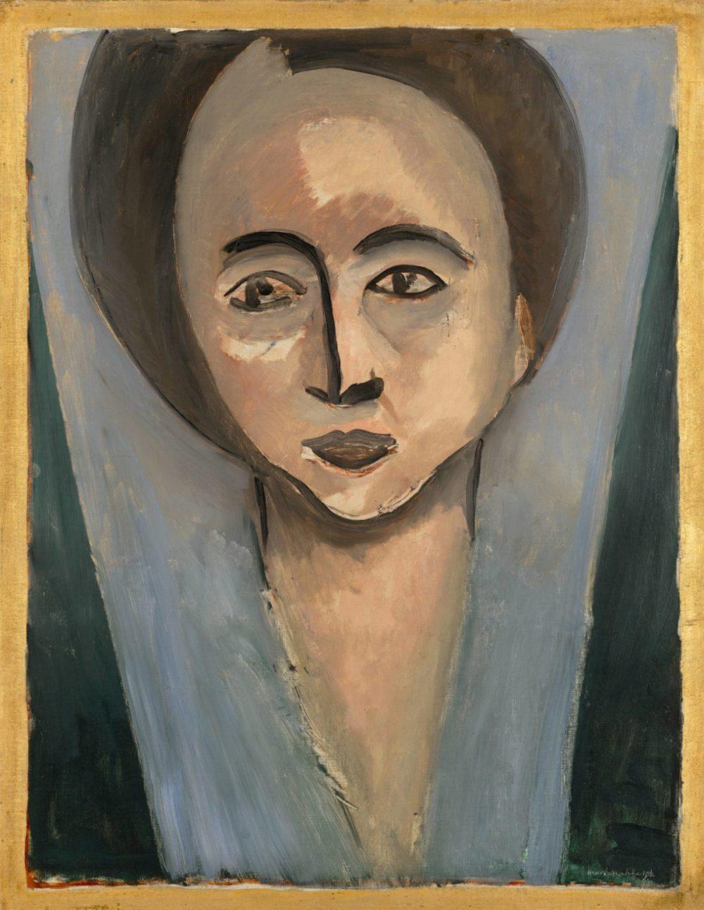 Sarah Stein By Henri Matisse 1916