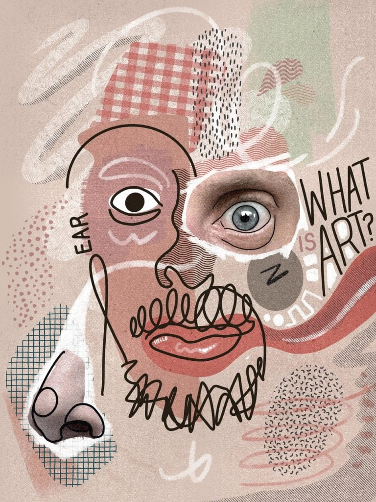 What Is Art? | Abstraction | Mixed Media | Motif | Dramatic