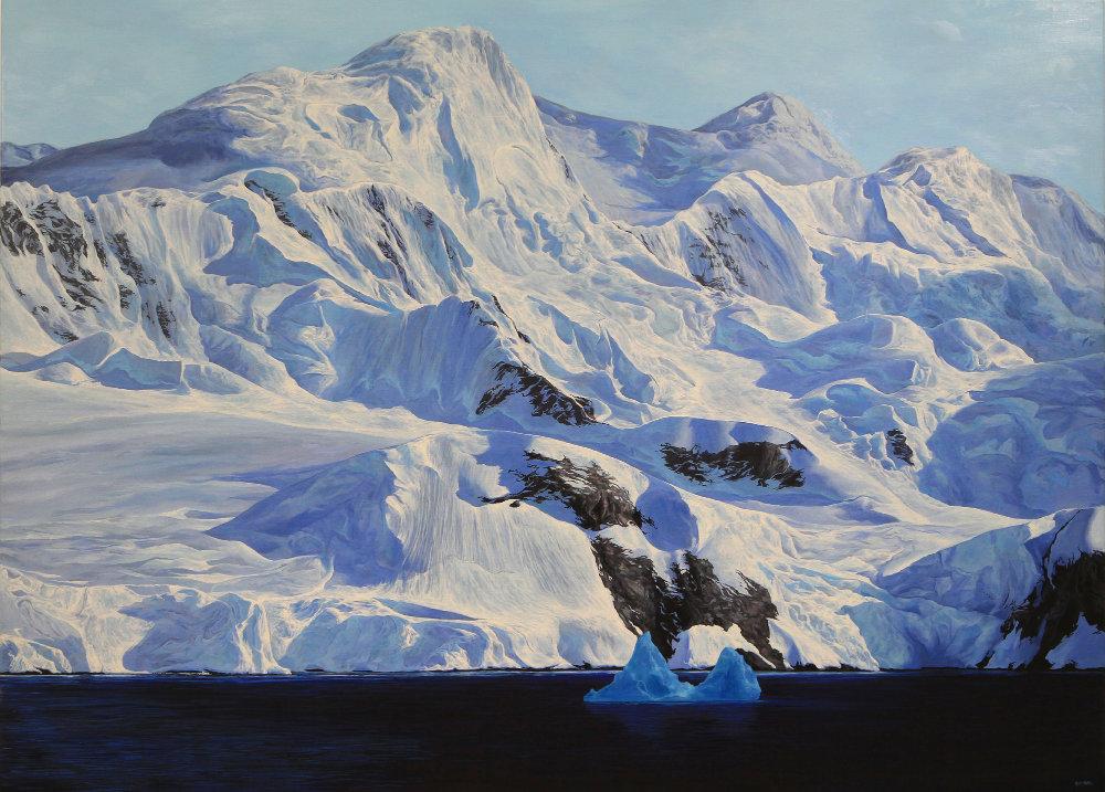 A Blue Berg Romeril