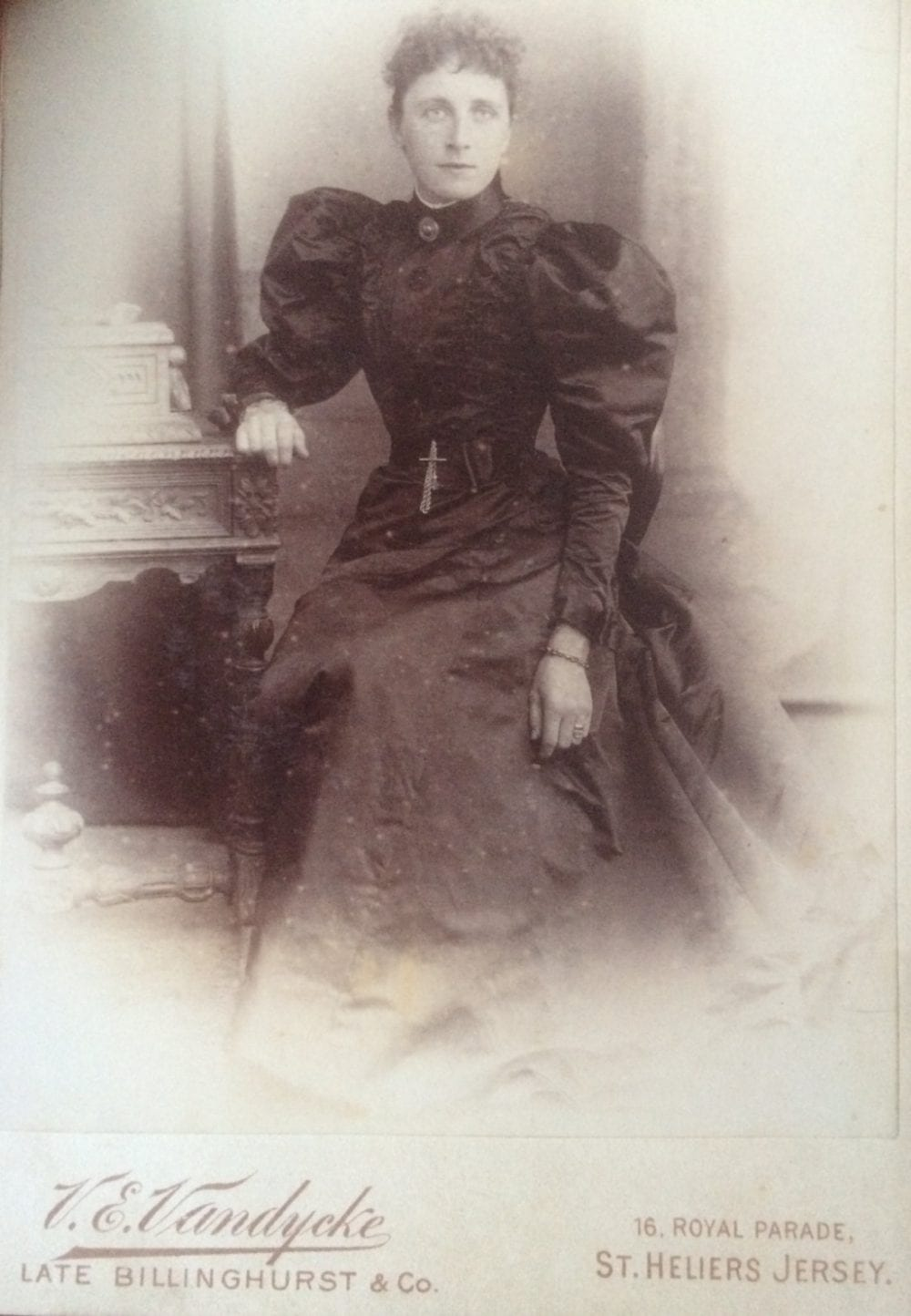 Cabinet Card 1890s